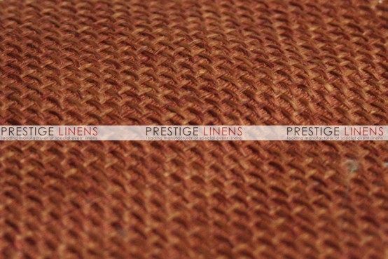 Jute Linen Pad Cover-Copper