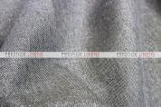 Metallic Linen Pad Cover - Grey