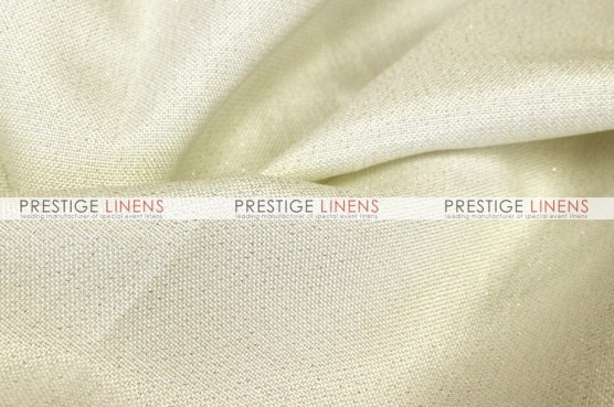 Metallic Linen Pad Cover - Ivory