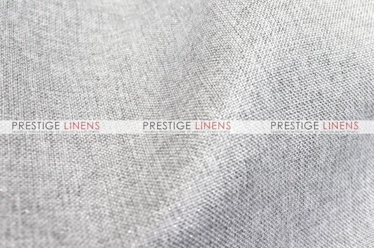 Metallic Linen Pad Cover - Platinum