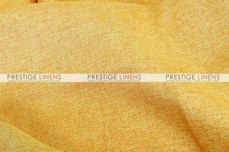 Metallic Linen Pad Cover - Sunshine