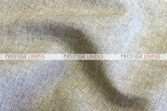 Metallic Linen Pad Cover - Wheat