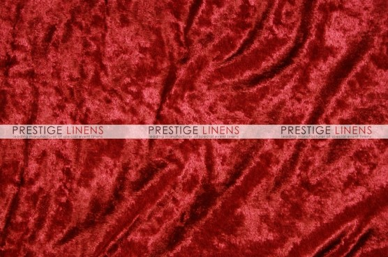 Panne Velvet Pad Cover-Red