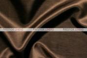Shantung Satin Pad Cover-335 Dk Brown