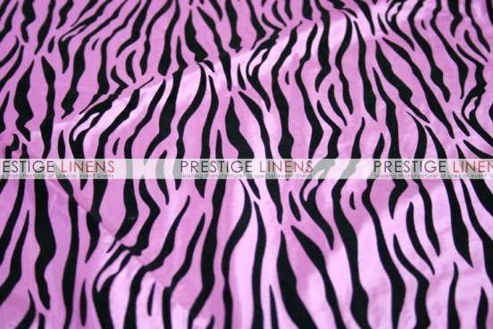 Flocking Zebra Taffeta Sash-Pink