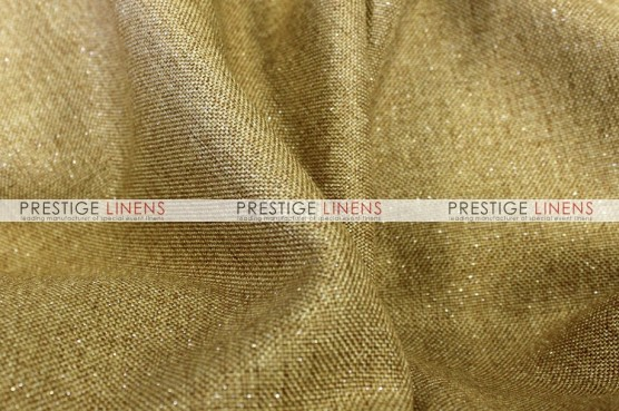 Metallic Linen Sash - Gold