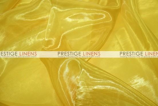Mirror Organza Sash-426 Yellow