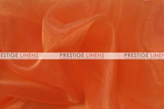 Mirror Organza Sash-431 Orange