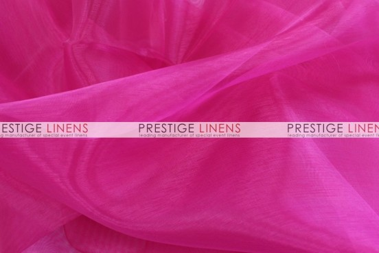 Mirror Organza Sash-528 Hot Pink