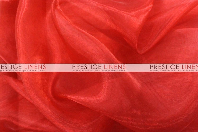 Mirror organza sash 626 red prestige linens - Salon prestige organza ...