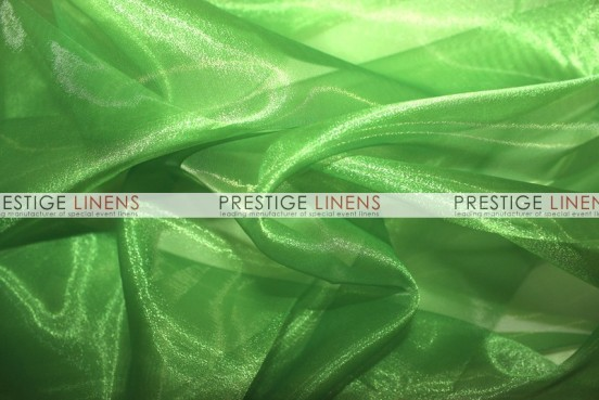 Mirror Organza Sash-727 Flag Green