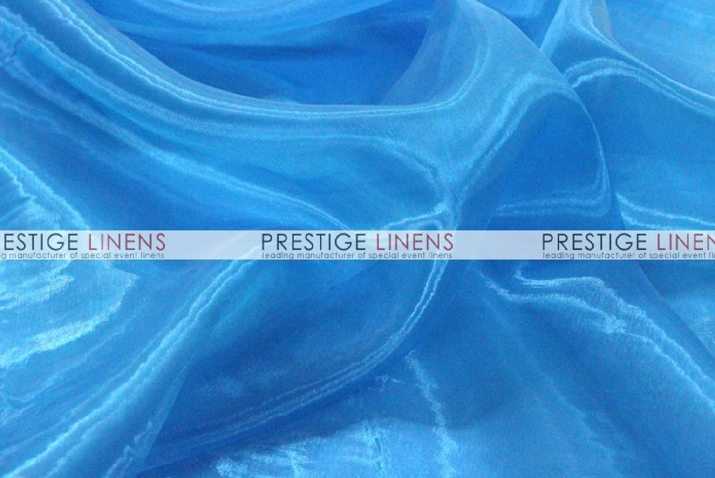 Mirror organza sash 932 turquoise prestige linens - Salon prestige organza ...
