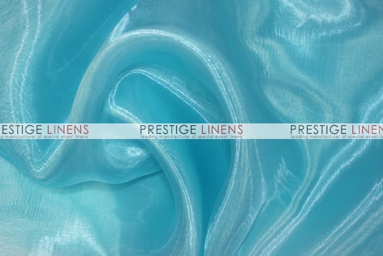 Mirror organza sash 936 lt aqua prestige linens - Salon prestige organza ...