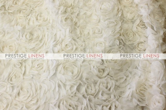Efflorescent Table Linen - Ivory