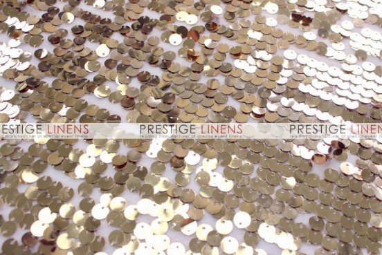 Mesh Sequins Embroidery Table Linen - Champagne