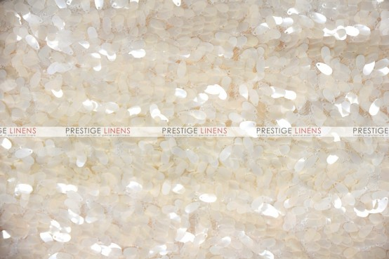 Raindrop Sequins Pillow Cover - Champagne