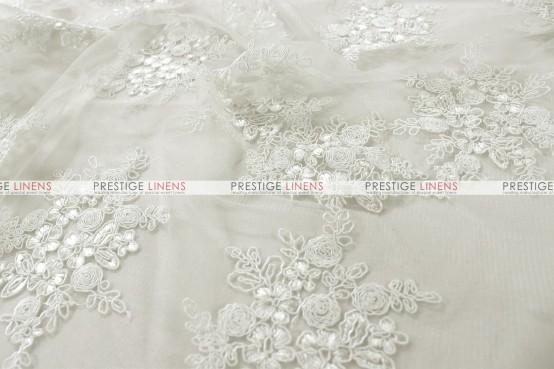 Bellaire Table Linen - Ivory