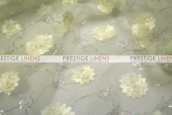 Bridely Sheer Table Linen - Ivory