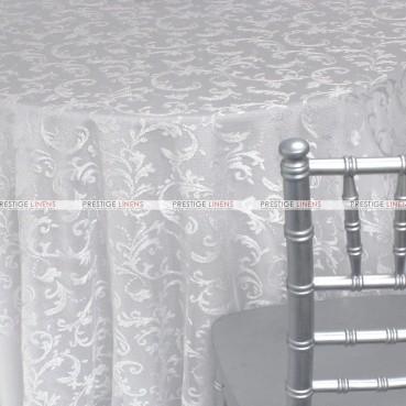 Clairemont Table Linen - White