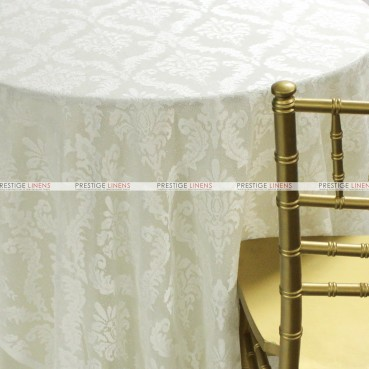 Classic Lace Table Linen - Ivory