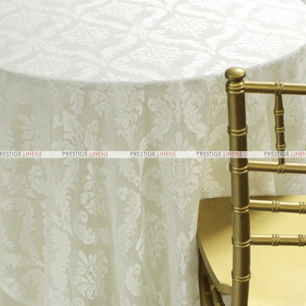 Classic Lace Table Linen Ivory Prestige Linens