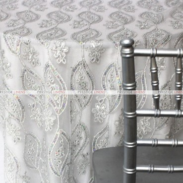 Coco Mango Table Linen - Silver