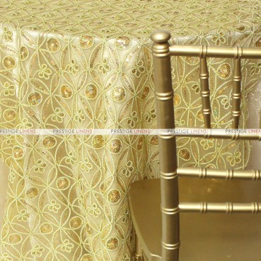 Coco Star Table Linen - Gold
