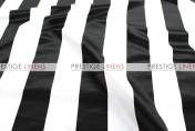 Striped Print Lamour Pad Cover - 3.5 Inch - Black