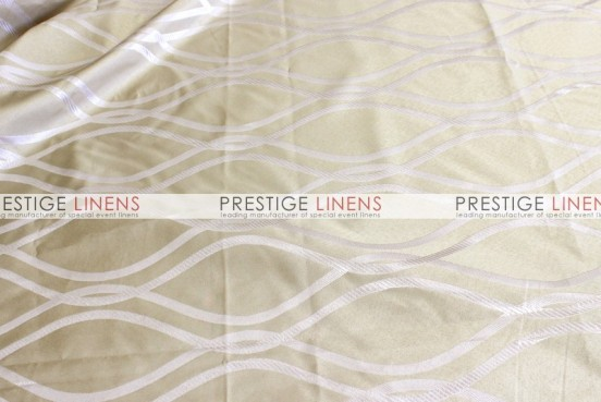 Eliptical Jacquard Table Linen - Ivory