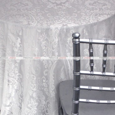 English Lace Table Linen - White