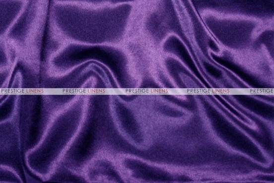 Crepe Back Satin (Japanese) Chair Cover - 1032 Purple