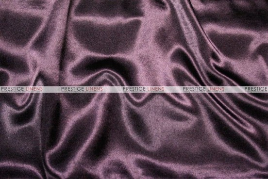 Crepe Back Satin (Japanese) Chair Cover - 1033 Lt Plum