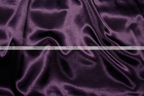 Crepe Back Satin (Japanese) Chair Cover - 1034 Plum