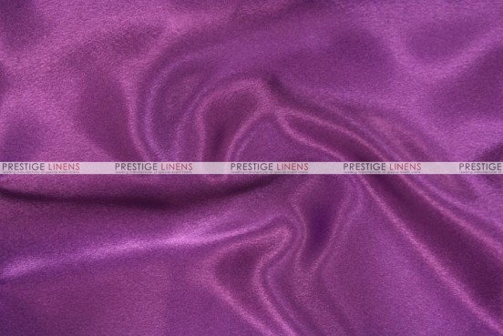 Crepe Back Satin (Japanese) Chair Cover - 1044 Eggplant