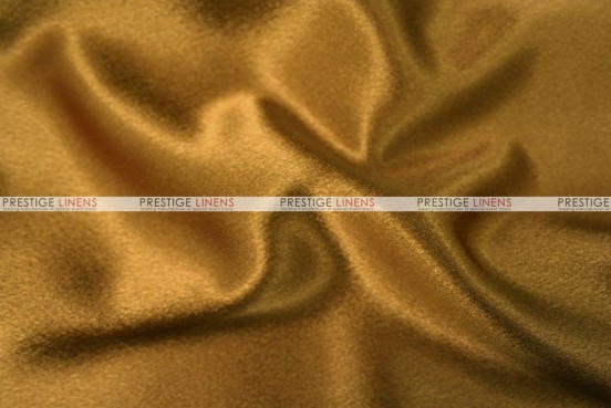 Crepe Back Satin (Japanese) Chair Cover - 229 Dk Gold