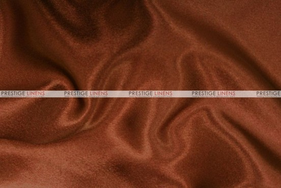 Crepe Back Satin (Japanese) Chair Cover - 344 M Rust