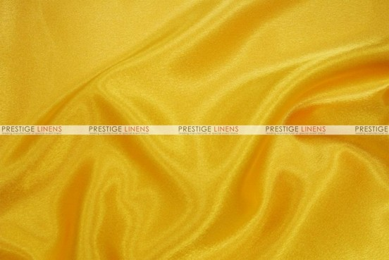 Crepe Back Satin (Japanese) Chair Cover - 426 Yellow