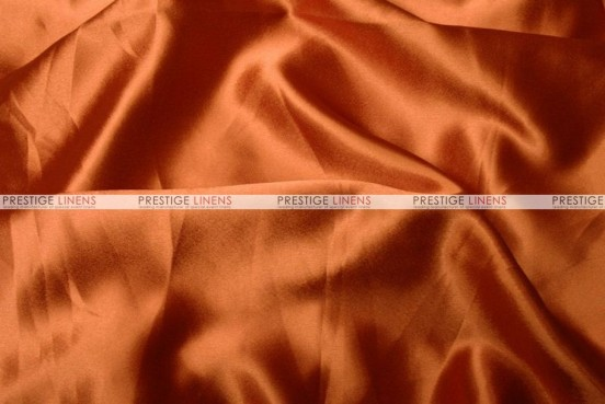 Crepe Back Satin (Japanese) Chair Cover - 447 Dk Orange