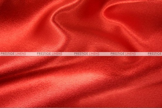 Crepe Back Satin (Japanese) Chair Cover - 626 Red