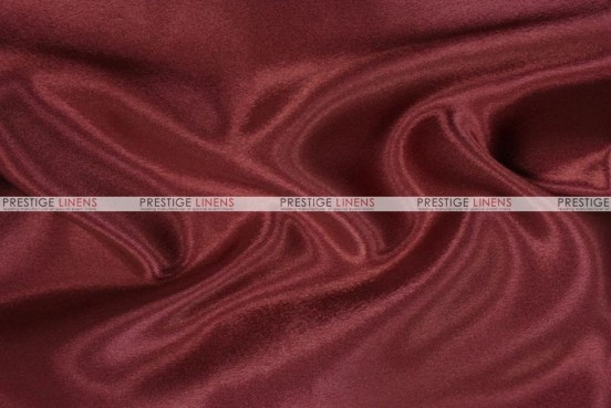 Crepe Back Satin (Japanese) Chair Cover - 628 Burgundy