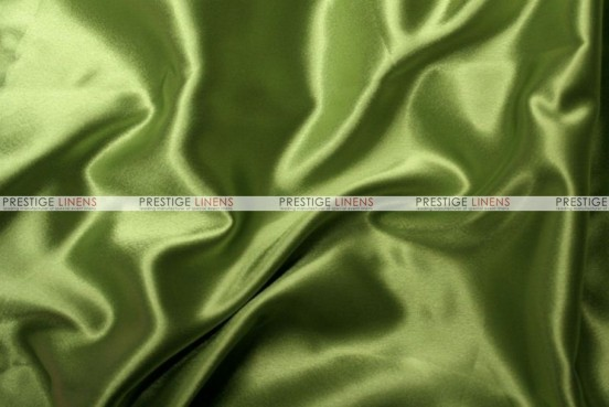 Crepe Back Satin (Japanese) Chair Cover - 749 Dk Lime