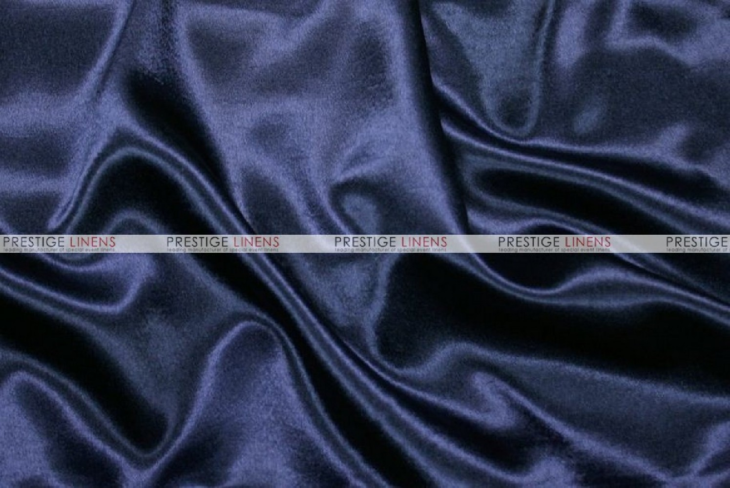 Crepe Back Satin Japanese Chair Cover 934 Navy