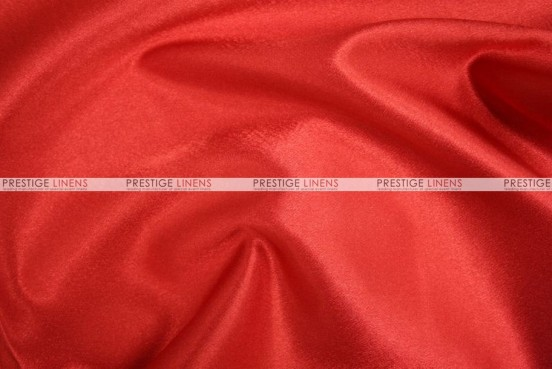 Crepe Back Satin (Korean) Chair Cover - 626 Red