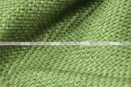 Jute Linen Chair Cover - Avocado