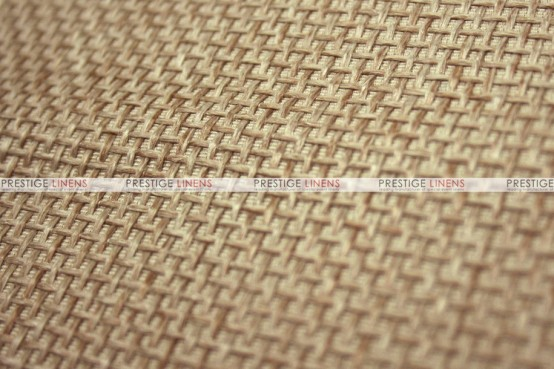 Jute Linen Chair Cover - Jute