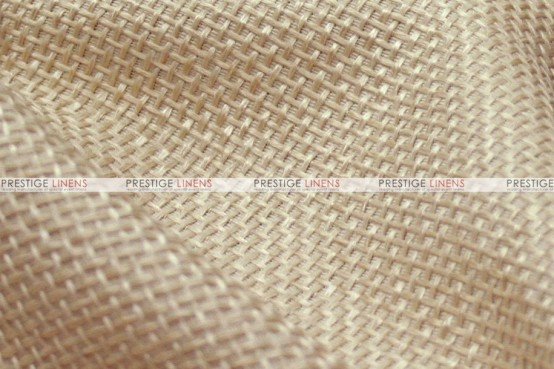 Jute Linen Chair Cover - Wheat