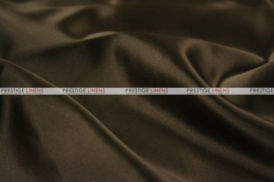 Lamour Matte Satin Chair Cover - 348 Chocolate