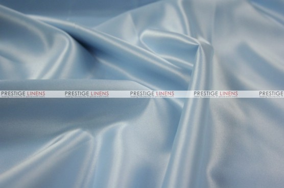 Lamour Matte Satin Chair Cover - 926 Baby Blue