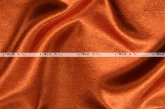 Shantung Satin Chair Cover - 337 Rust