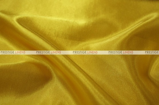 Shantung Satin Chair Cover - 454 Pride Yellow